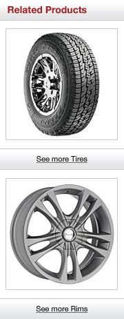 Related Tires and Rims