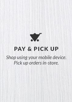 Shop using your mobile device. Pick up orders in-store.