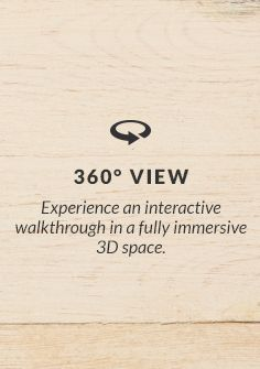 Experience an interactive walkthrough in a fully immersive 3D space.