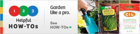 See our gardening HOW-TOs!