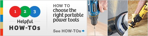 How to choose the right portable power tools