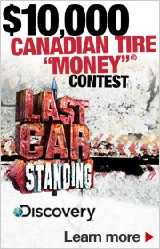 $10,000 CANADIAN TIRE MONEY CONTEST