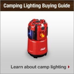 Camping Lighting Buying Guide. Learn about camp lighting.