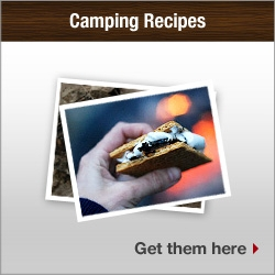 Camping Recipes. Get them here.