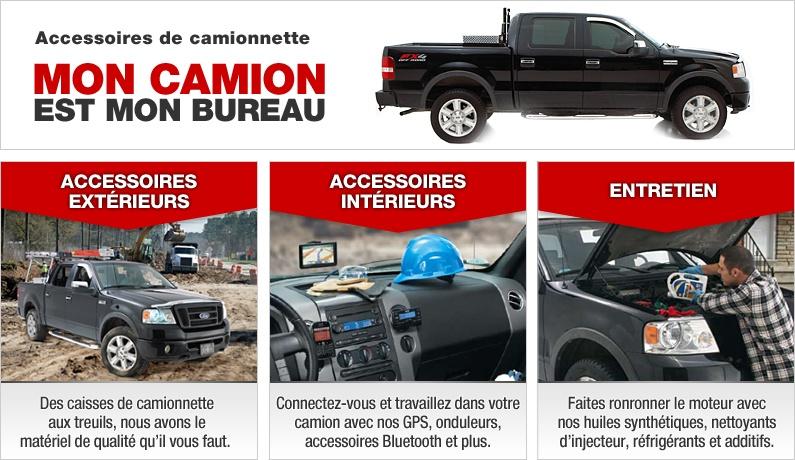 Accessoires de camionnette canadian tire for Canadian tire mon compte en ligne