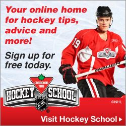 Sign Up for Canadian Tire Hockey School