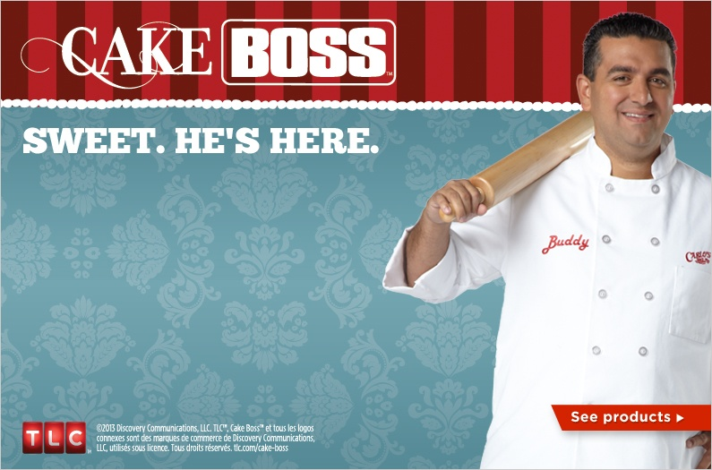 Sweet, Cake Boss is here!