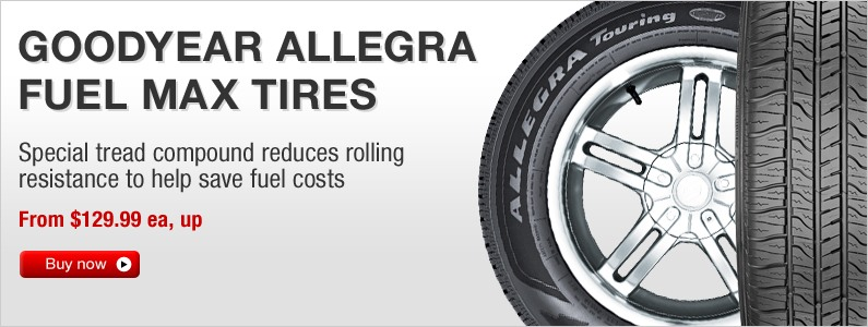 Goodyear Allegra Touring Fuel Max tires