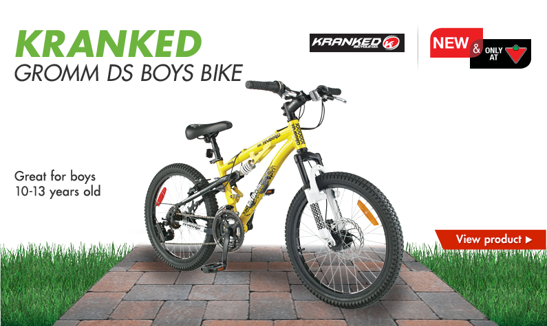 Kranked Gromm DS Boys Bike