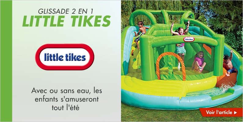 Glissade 2 en 1 Little Tikes