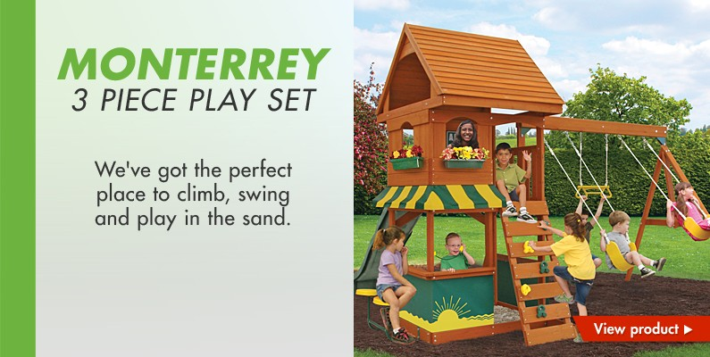Monterrey 3 piece play set