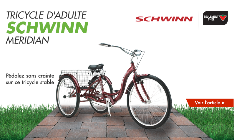 Tricycle d'adulte Schwinn Meridian