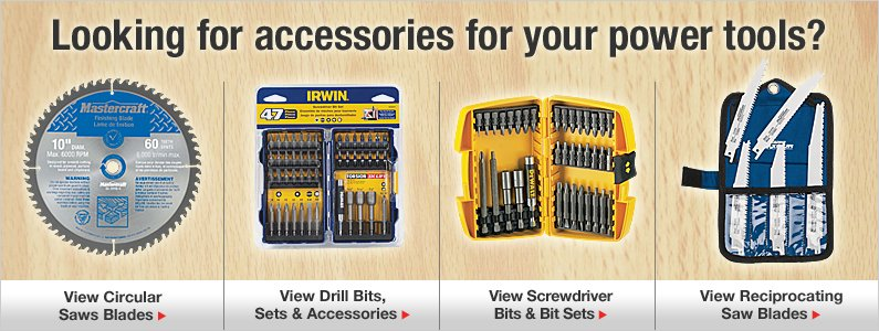 Looking for accessories for your power tools?