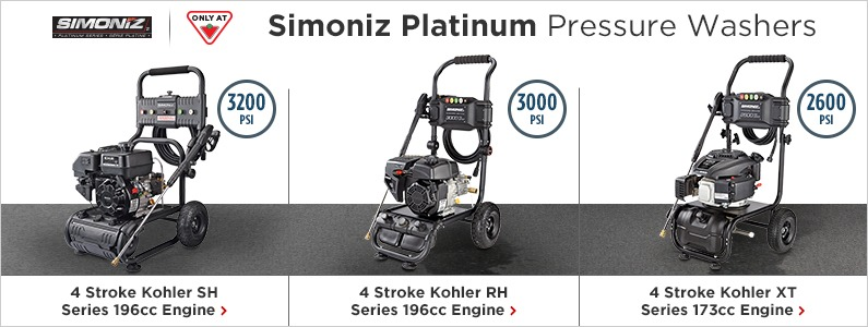 Introducing Siminoz Platinum Pressure Washers!