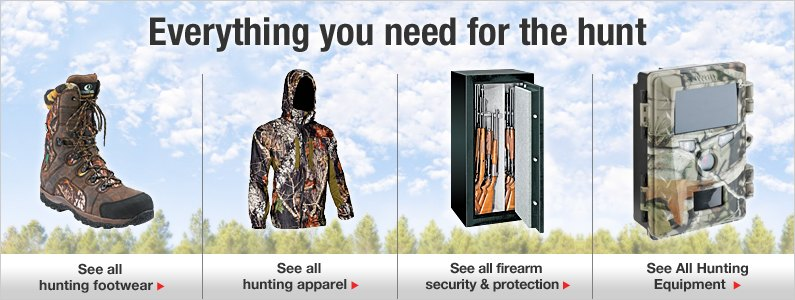 Everything you need for the hunt.