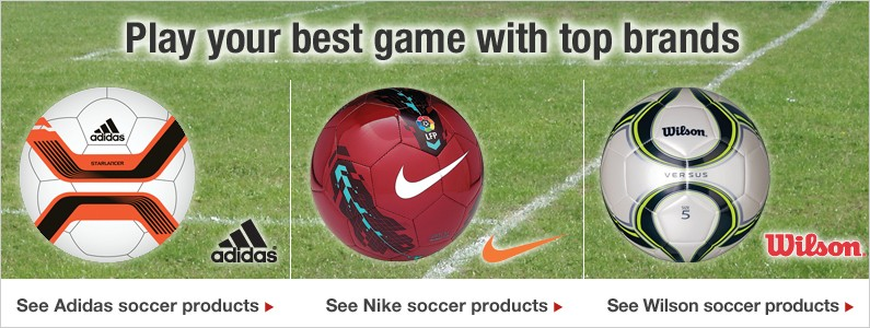Top Soccer Brands you know and trust
