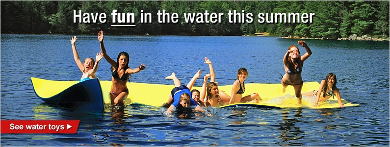 Have fun in the water this summer