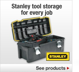 Stanley tool storage for every job