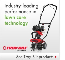 Troy-Bilt yard equipment