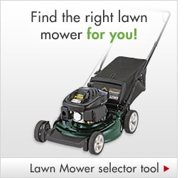Find the right lawn mower for you!