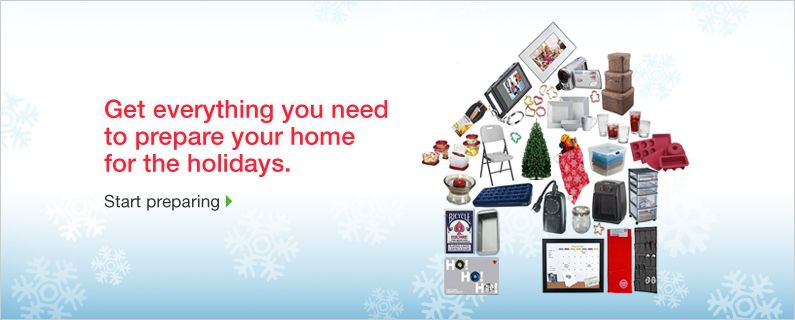 Get everything you need to prepare your home for the holidays.