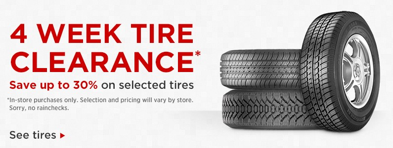 Save Up To 30 On Selected Tires