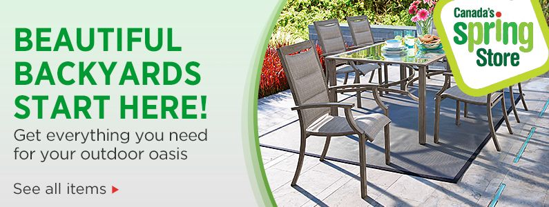 Beautiful Backyards Start With Our Full Line Of Outdoor