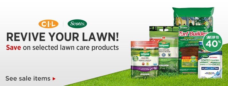 Save Up To 40 On Selected Lawn Care Products