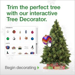Trim the perfect tree with our interactive Tree Decorator
