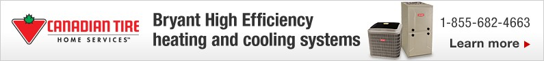 Bryant High Efficiency heating and cooling systems
