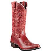 Ariat Alabama Womens Redwood Snip Toe Western Boots