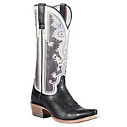 Ariat Womens Midnight Blue Alameda w Regal Print Top Snip Toe Western Boots