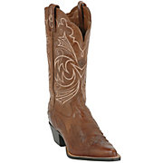 Ariat Ladies Brown w Brown Patent Wing Tip J-Toe Heritage Western Boot