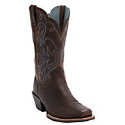 Ariat Ladies Legend Western Boots - Oiled Brown Square Toe