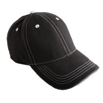 Cap With Contrast Stitching 085706