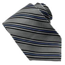 Bias Stripe Tie114090