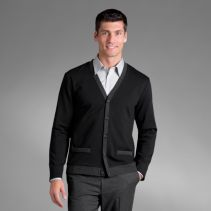 Banded Knit Male Cardigan114637