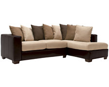 Greg Two-Tone Collage Right Chaise Sectional