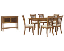 Bayberry Mid Tone Rectangular Dining Room