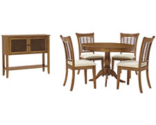 Bayberry Mid Tone Round Dining Room