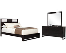 Tahoe Dark Tone Platform Bedroom