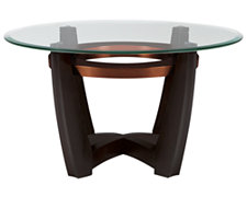 Ava Glass Round Coffee Table
