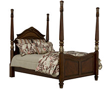 Tradewinds Dark Tone Poster Bed