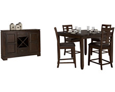 Becca Dark Tone High Dining Room