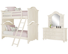 Victoria White Bunkbed Bedroom