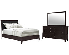 Ivy Dark Tone Platform Bedroom