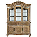 Light Tone China Cabinet