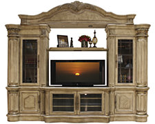 Regal Light Tone Small Entertainment Wall