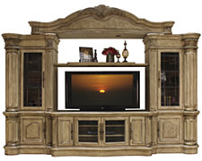 Regal Light Tone Large Entertainment Wall