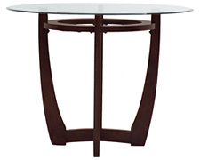 Park Round Glass High Dining Table